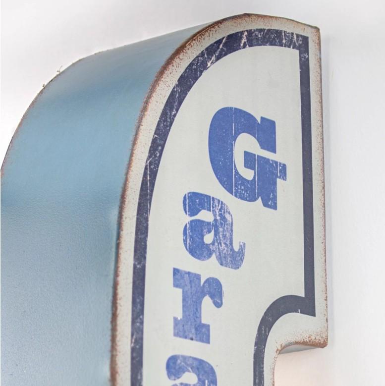 """""""Garage Open 24 Hours"""" Vintage LED Sign (40"""")"""